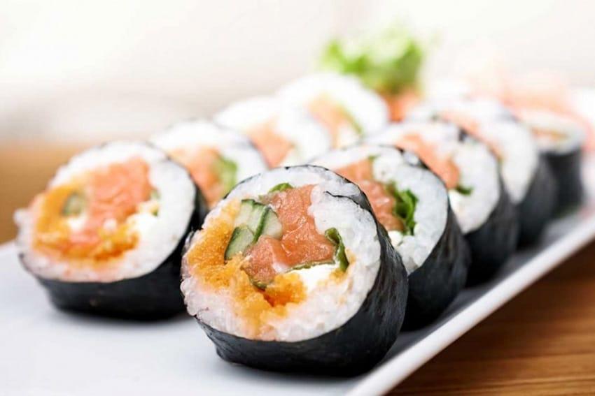Receta de sushi tradicional