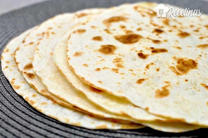 Tortillas De Harina De Trigo Recetinas