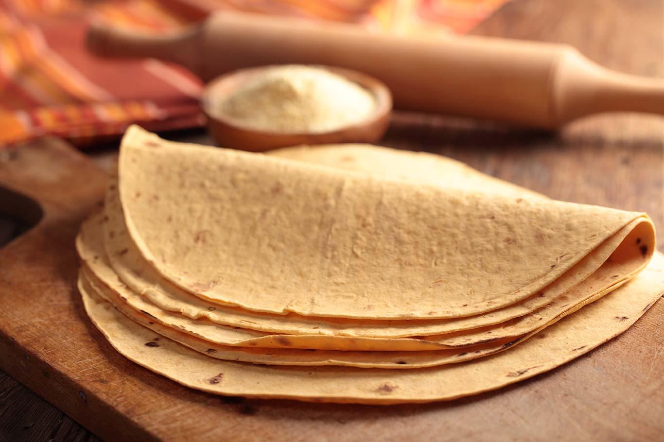 Tortillas De Maíz Recetinas