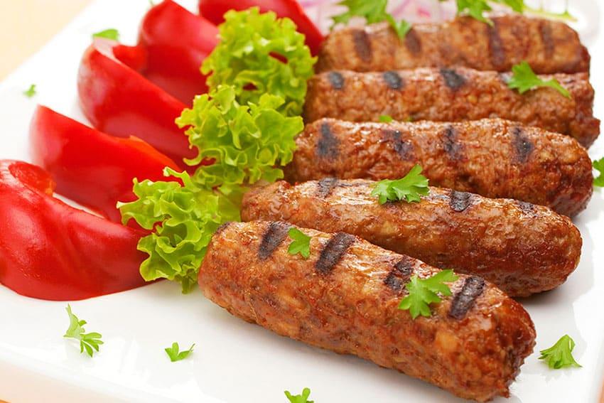 Receta de salchichas de carne