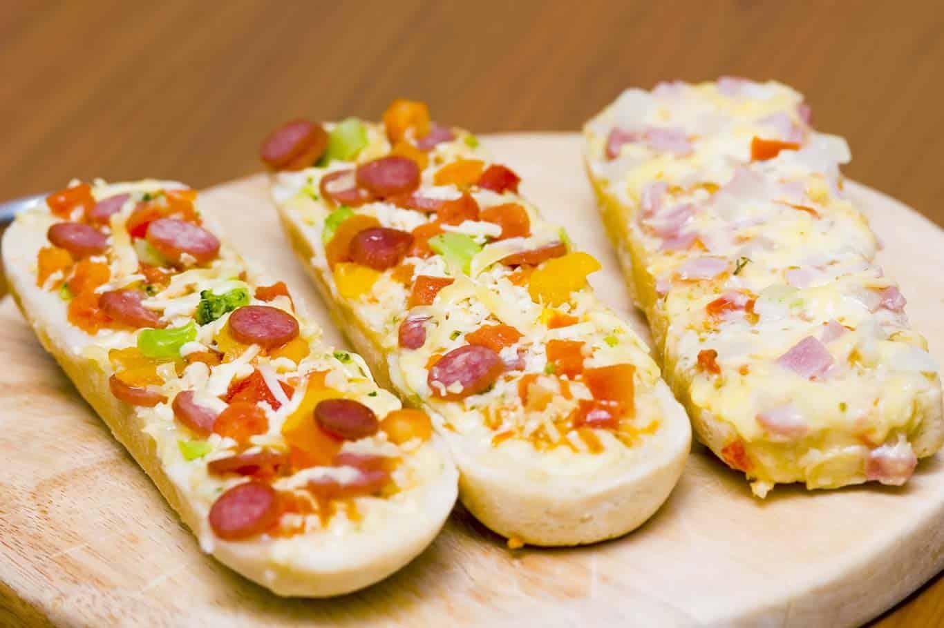 Receta de paninis de peperoni