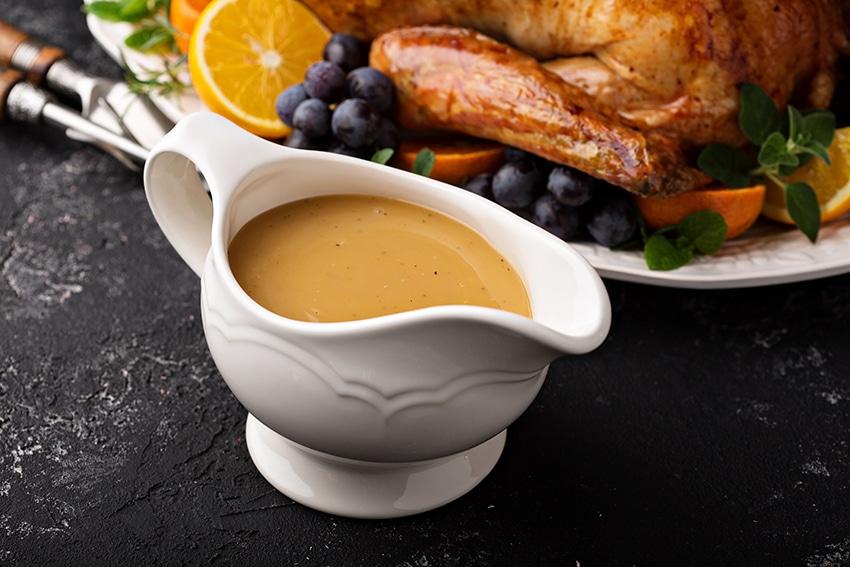Receta de salsa gravy