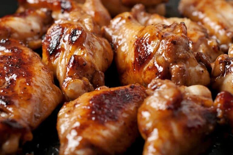 Receta de alitas de pollo con miel