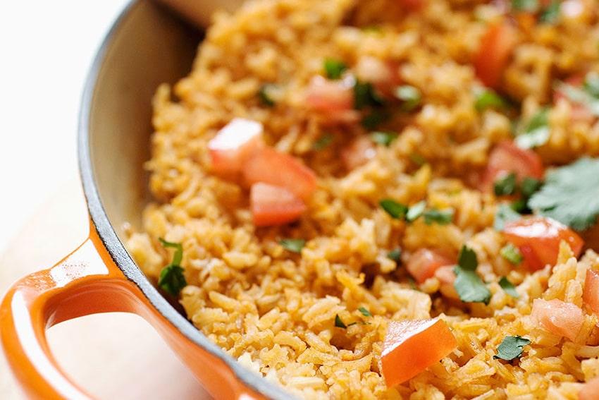 Receta de arroz a la milanesa