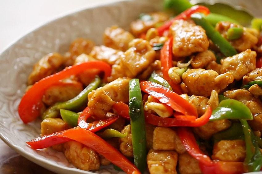 Receta de pollo al estilo oriental