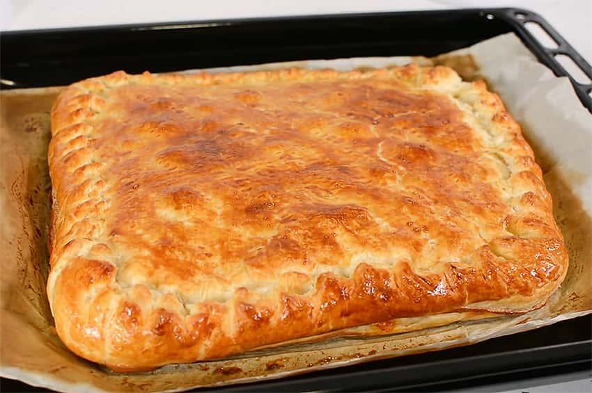 Empanada De Hojaldre Con Pisto Y Atún Recetinas
