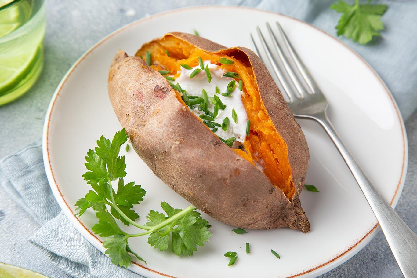 Receta de batatas al horno