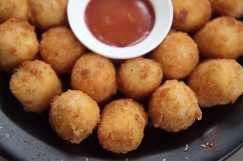 Receta de nuggets de patata y queso