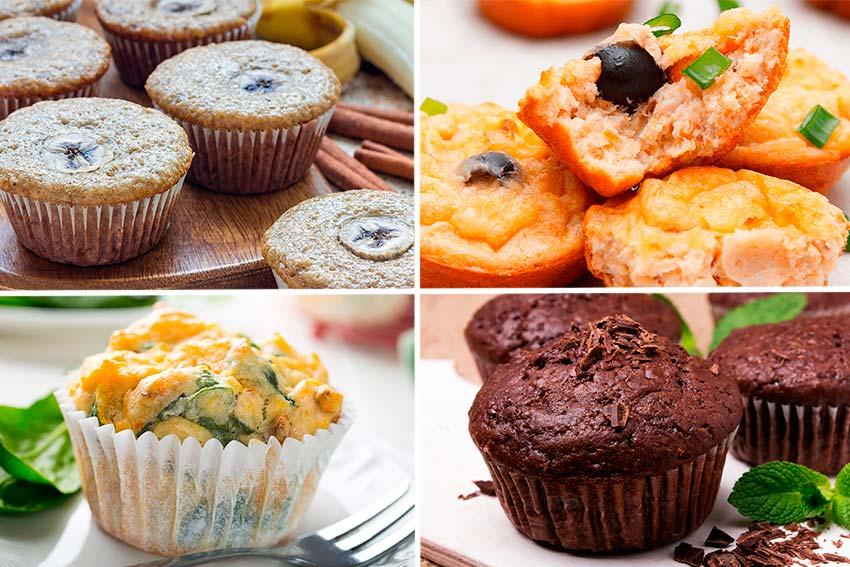 Receta de 8 formas fáciles de preparar unos deliciosos muffins