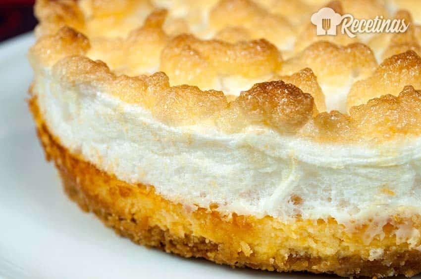 Receta de tarta de limón con merengue